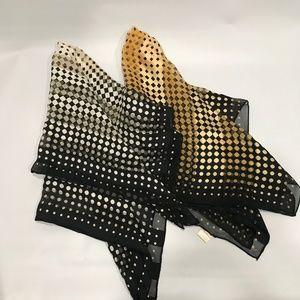 Vintage Made In Japan All Silk Scarves